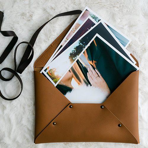Pochette custodia per fotografie